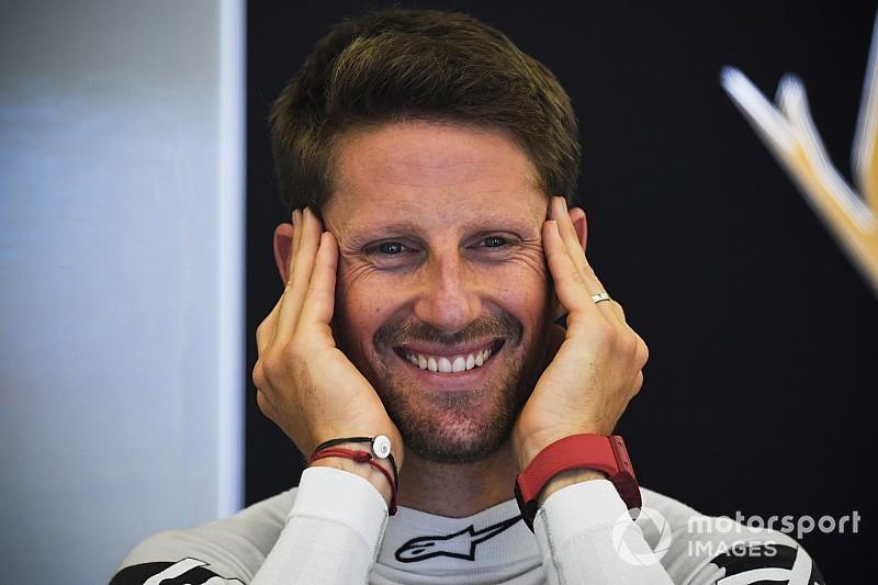 Grosjean grid cezası aldı!