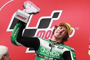 'Euphoria' for Gardner after Moto2 podium breakthrough