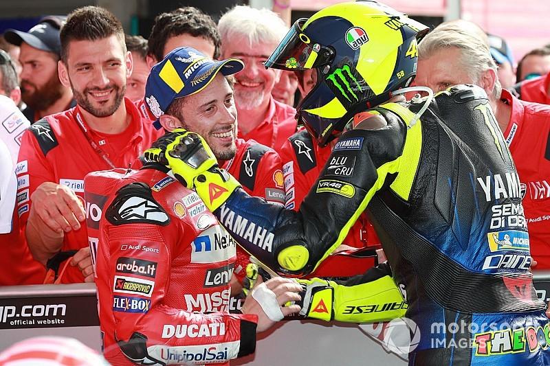 Mondiale MotoGP 2019: Dovizioso e Valentino primo e secondo dopo Austin!