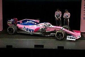 Racing Point reveló su diseño y patrocinador principal
