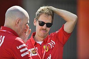 Vettel ontwijkt vragen over Ferrari-problemen in Australië