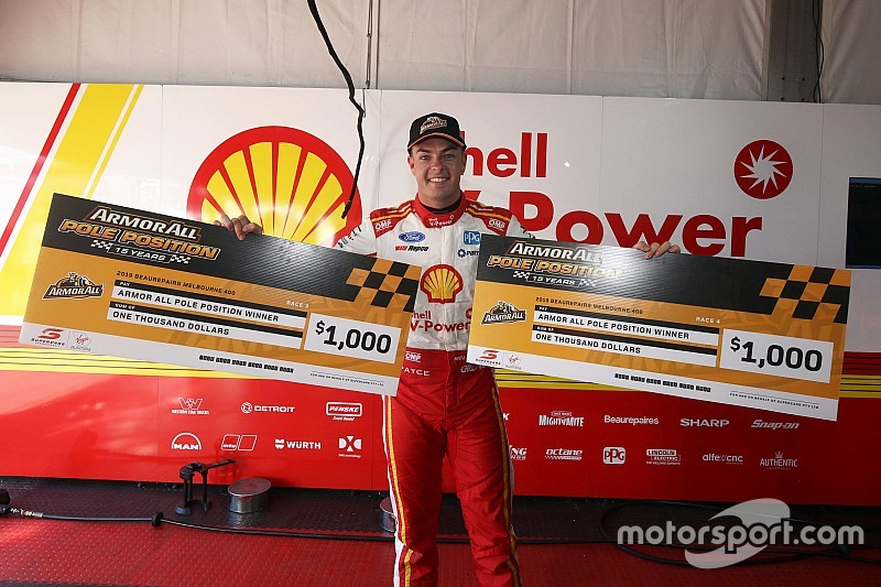Albert Park Supercars: Record-breaking McLaughlin locks out poles