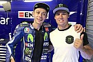 Supercars Cam Waters meets MotoGP star Rossi