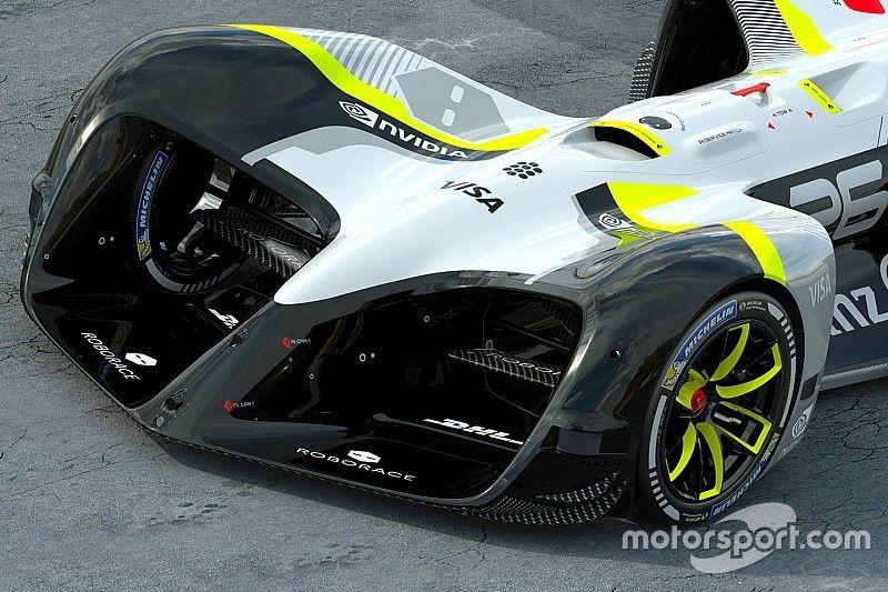 Roborace - Des voitures capables de 24 millions d'opérations par seconde!