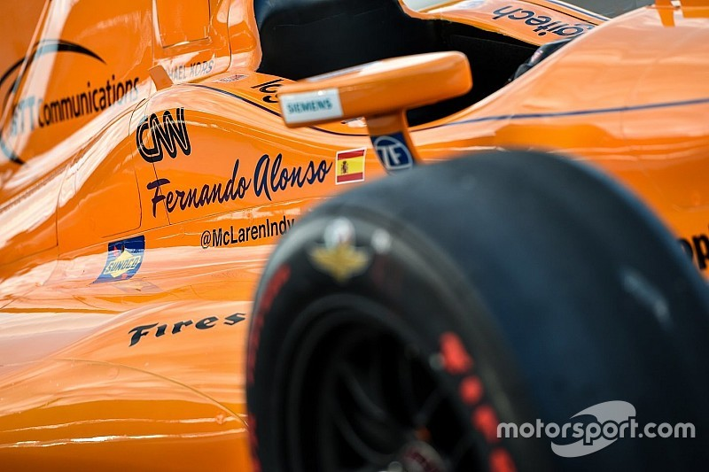 Gallery: Alonso makes test debut at Indianapolis