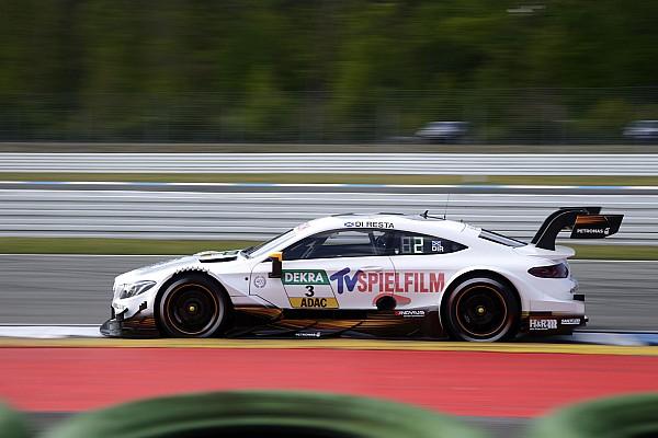 Paul Di Resta y Mercedes lideran los primeros libres del DTM 2017