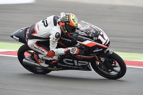 Assen Moto3: Bezzecchi puts Mahindra on second row