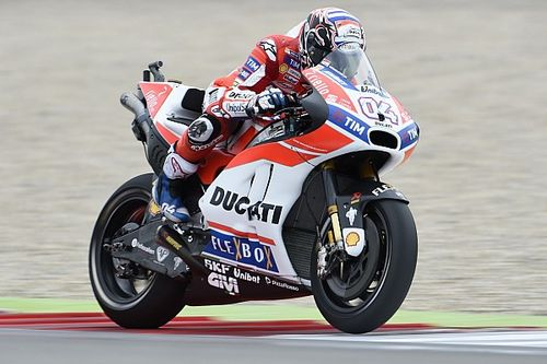 """Dovizioso: """"Non abbiamo ancora un buon set-up, ma la Ducati è veloce"""""""