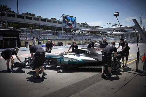 """Wolff se dice """"preocupado"""" por el viernes de Mercedes en Bakú"""