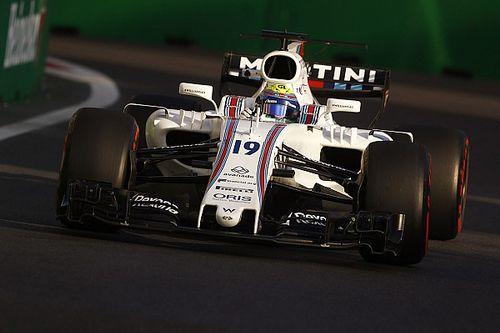 Mesmo em 11º, Massa diz que Williams está bem em Baku