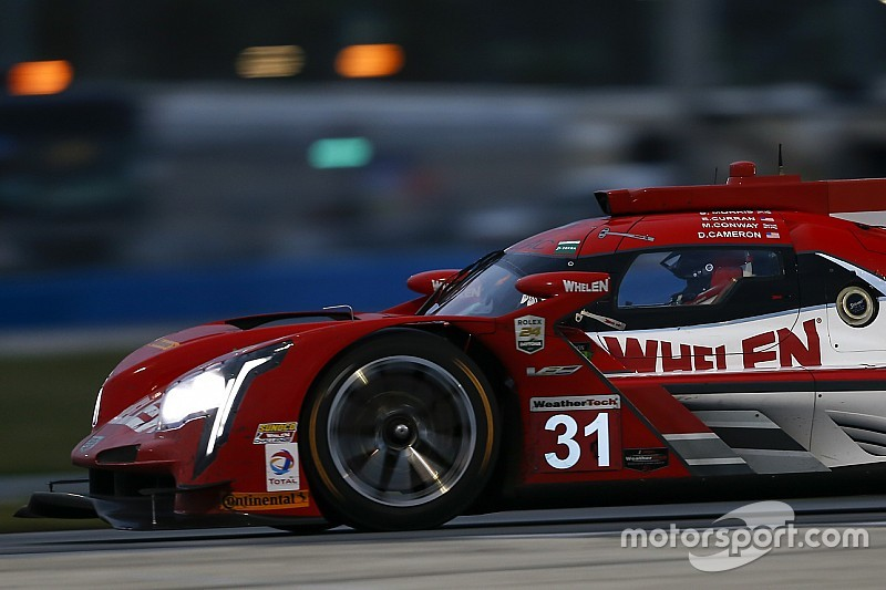 Sebring 12h: Conway sends Action Express Cadillac to the top