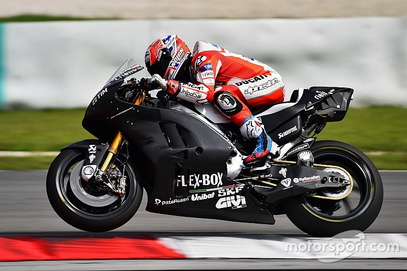 MotoGP 2017: Casey Stoner tops first test day at Sepang