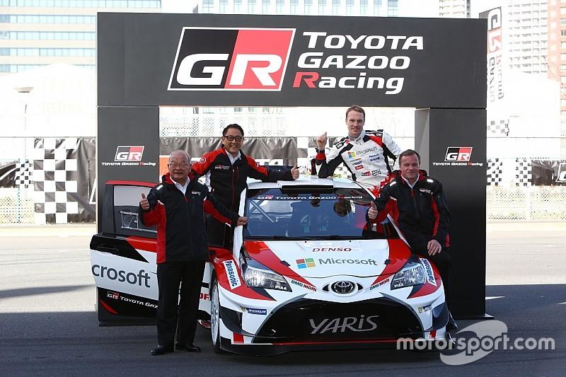 【WRC】トヨタが目指す「プッシュせずに勝つクルマ作り」