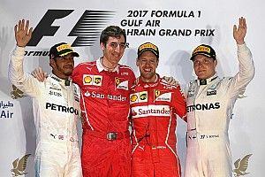 Bahrain GP: Vettel wins as Hamilton penalty proves costly