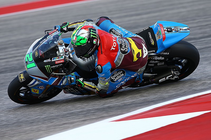 Moto2 Amerika: Morbidelli raih pole kedua, Marquez P3