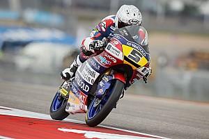 Moto3 Raceverslag Fenati wint Amerikaanse GP, Bendsneyder opnieuw met lege handen