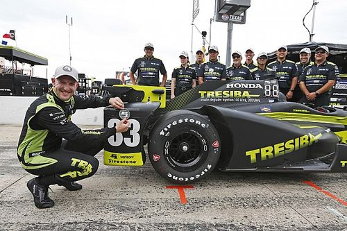 Charlie Kimball ottiene la prima pole in carriera in Texas
