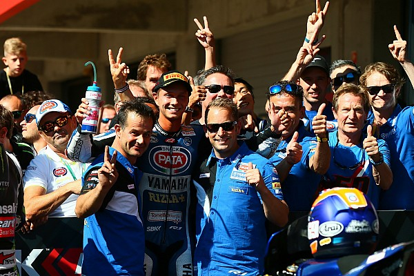 Pour Van der Mark, ce premier podium ne pouvait pas mieux tomber