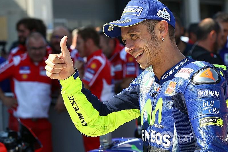 """Incroyable"", ""impressionnant""... Rossi applaudi par ses adversaires"