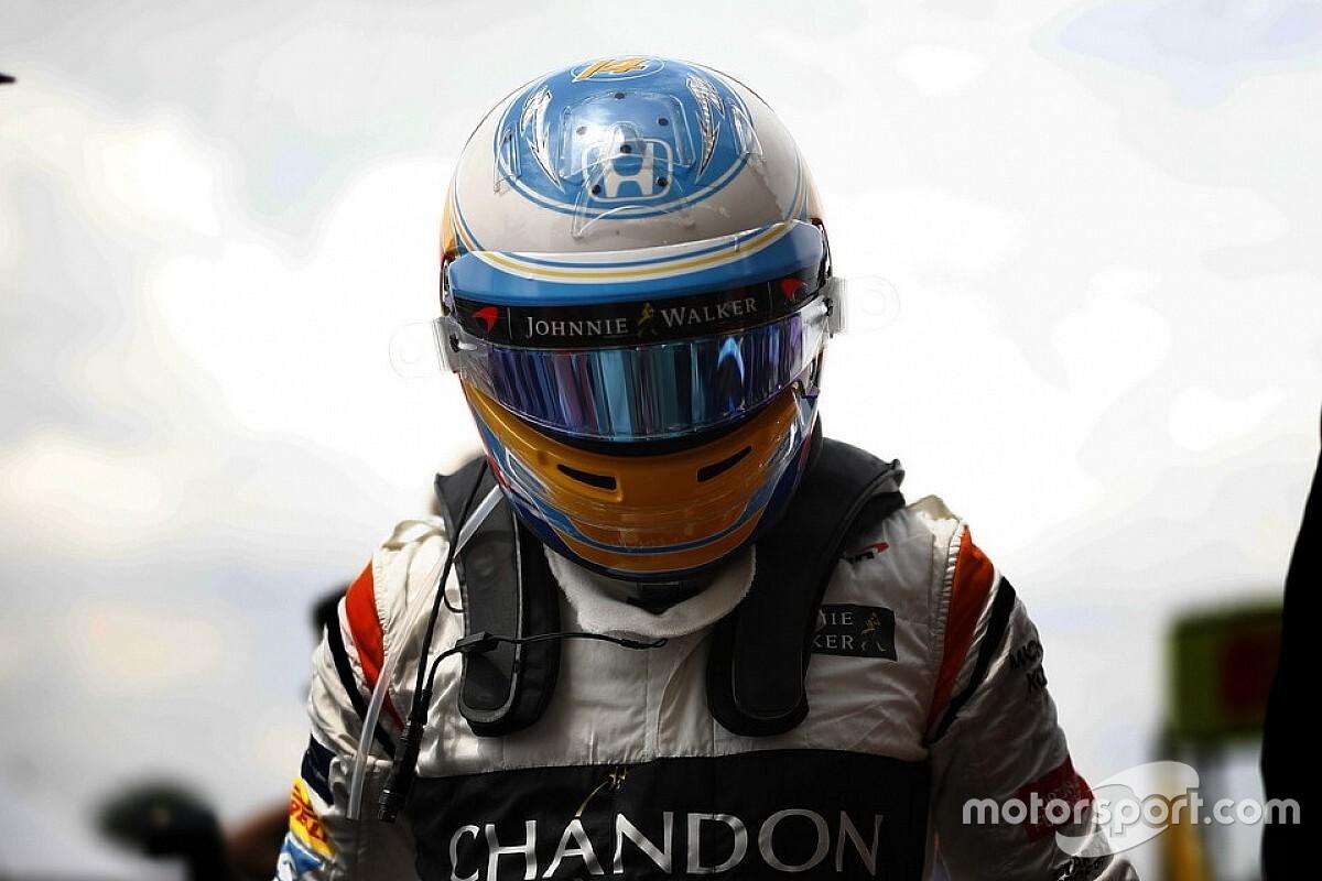 Onboard nézetből Alonso szimulátoros debütálása (videó)