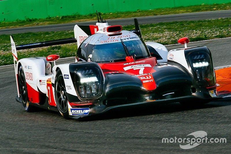 Toyota superó a Porsche en la segunda sesión del Prólogo del WEC