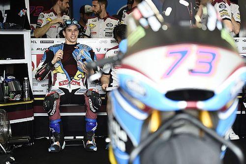 Marquez heer en meester in natte eerste training Jerez