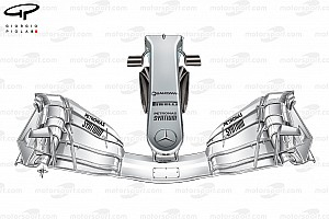 Formula 1 Analysis Tech analysis: Mercedes' radical approach to nose upgrades