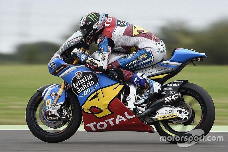 Jerez, Libere 1: Alex Marquez vola sotto la pioggia, Morbidelli in difficoltà