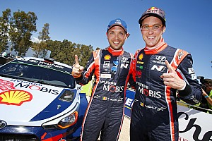 WRC Leg report Corsica WRC: Neuville and Hyundai become fourth different winners