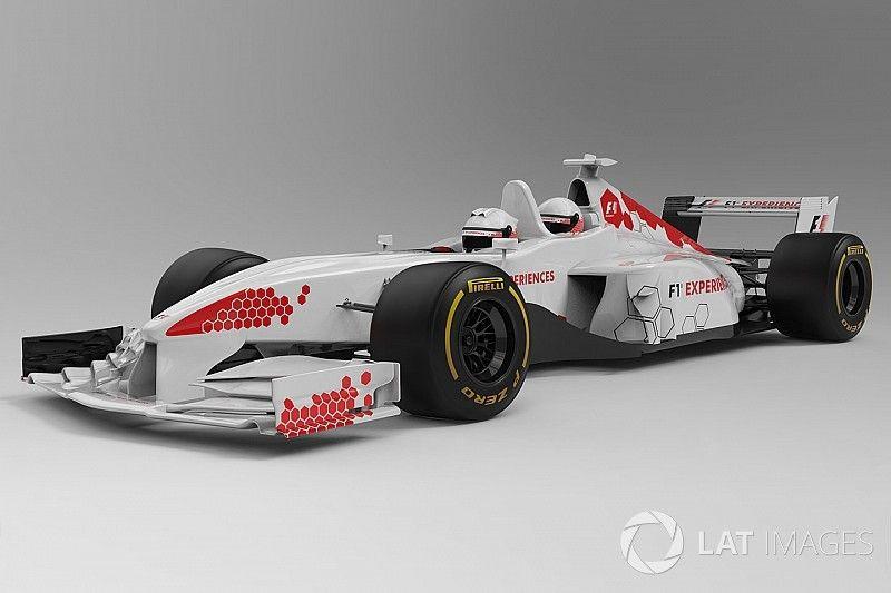 Les premières images de la F1 biplace évoluée