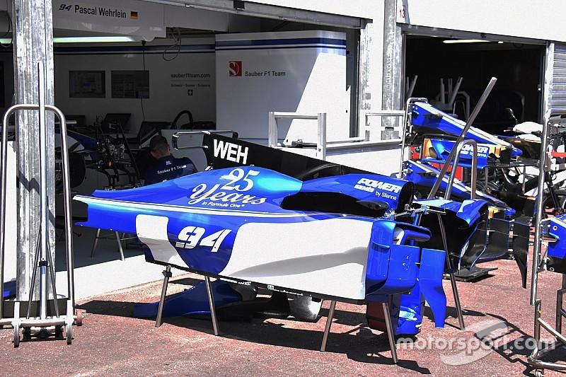 Sauber завершить відкладені оновлення в Монако