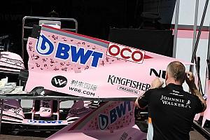 Forma-1 BRÉKING Monacoban a mellrák ellen is harcol a Force India
