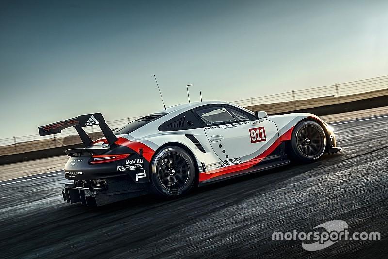 """Porsche представила новую модель GT для """"24 часов Ле-Мана"""""""