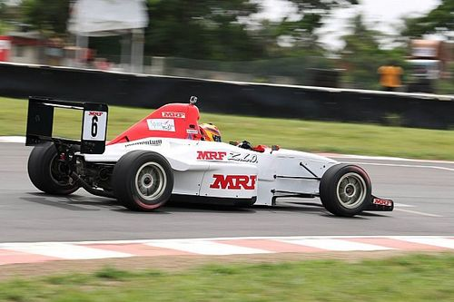 Chennai MRF F1600: Sandeep takes victory in eventful race
