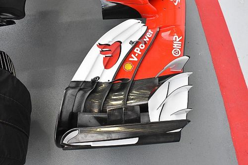 Ferrari: torna l'ala anteriore per il massimo carico aerodinamico