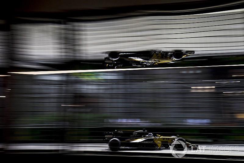 Melhor do resto, Hulkenberg celebra velocidade da Renault