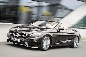 Automotive News Mercedes zeigt Facelift-Version von S-Klasse-Cabrio