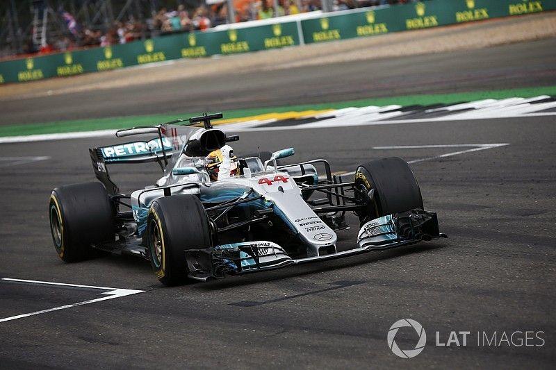 Top statistics from the British GP