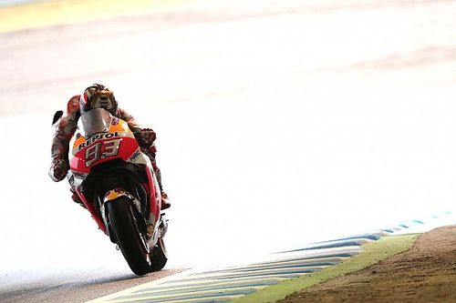 "Marquez: Motegi pole less ""important"" than slick mileage"