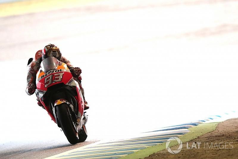 Marquez: Pole pozisyonu kuru zemin lastiğiyle turlamaktan