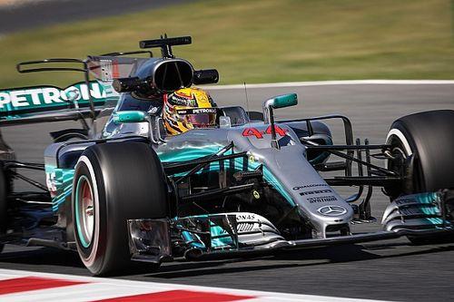 Formel 1 2017 in Barcelona: Mercedes auch im 2. Training am schnellsten
