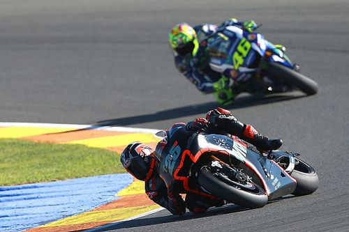 Vinales leads Rossi and Lorenzo on Yamaha test debut