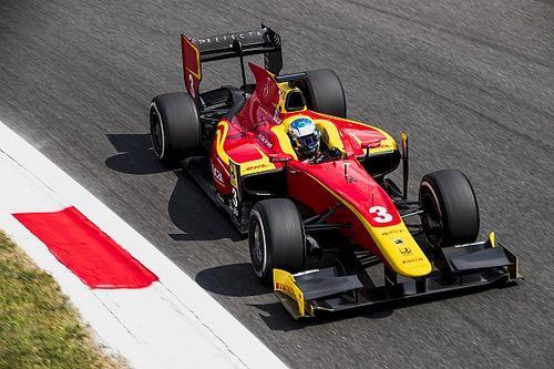 F2 Monza: Nyck de Vries verovert plek op eerste startrij