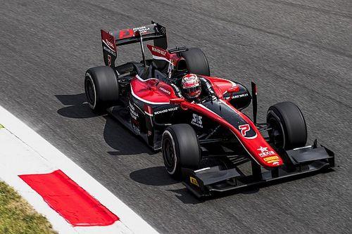 Monza F2: Matsushita beats de Vries to maiden pole