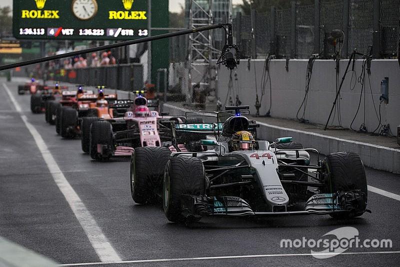 Grid start balapan GP Italia 2017