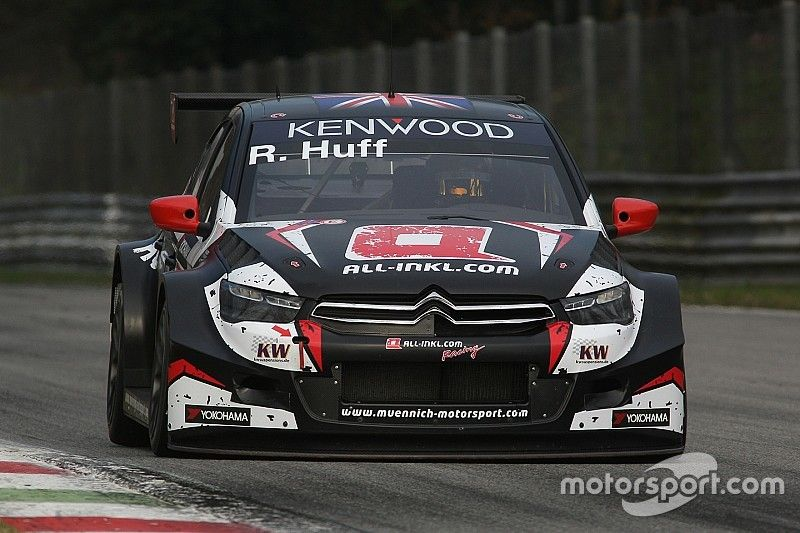 Huff tops both days of WTCC Monza testing