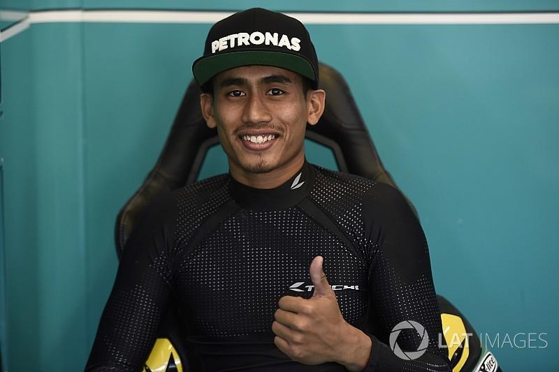 """Syahrin: """"El equipo me ha dicho que me adapte a la moto y sume experiencia"""""""