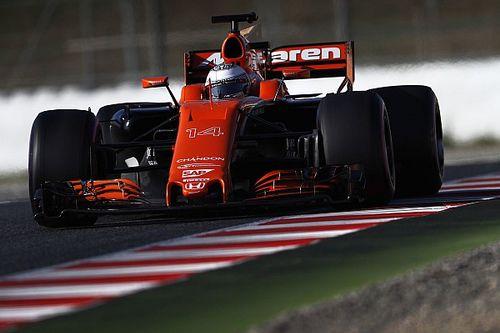 Sokszor vezethetetlen volt a McLaren-Honda Barcelonában
