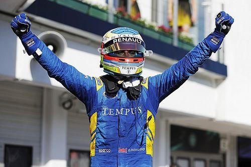 Rowland gana la primera carrera en Hungría