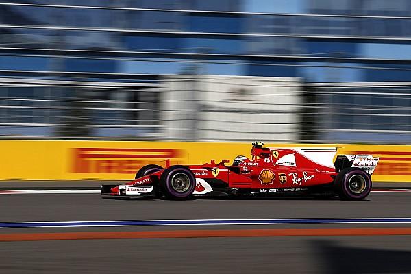 Formula 1 Breaking news Raikkonen says traffic cost him shot at Sochi pole